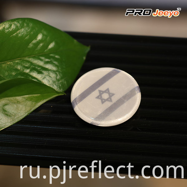 Israel Flag Custom Pin Badge (2)