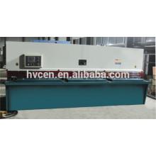 strip cutting machine QC12K-6*3200/cnc metal sheet cutting machine/hydraulic cnc shear machine