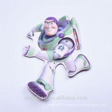 factory made cheap lovely Buzz Lightyear design flat paper fridge magnets