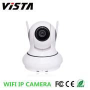 Pan Tilt Wireless Wifi IP Surveillance Camera RJ45 TF Card