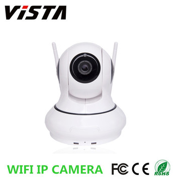 720P Pan Tilt Wifi IP Surveillance Camera with SD Card Slot