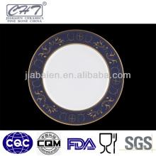 A050 Plat plat en céramique unique de bonne qualité