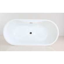Freistehende Badewanne aus Acrylmaterial mit Cupc
