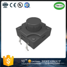 12*12 Waterproof Touch Button Switch IP67 High Temperature Switch (FBELE)
