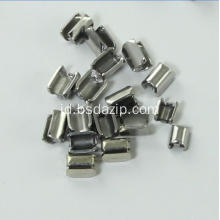 Stainless Steel Metal # 5 Zipper Stop