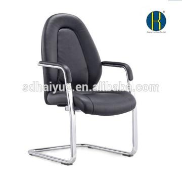 Sillas de conferencia de respaldo medio, silla de reunión, silla de visitante, silla de invitado