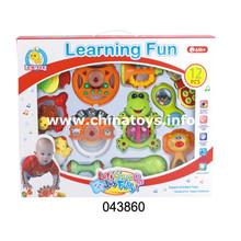 Brinquedo educativo para crianças Early Learning Plastic Baby Bell (043860)