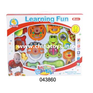 Jouet éducatif pour enfants en début d'apprentissage en plastique bébé Bell (043860)