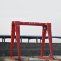Single Beam Gantry Crane na may Electric Hoist