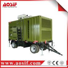 OEM mobile Diesel Wasserkraft Anhänger Generator für Baumaschinen
