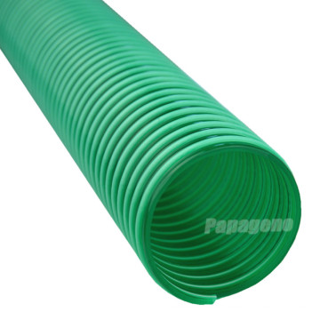 Tuyau flexible d'aspiration et de décharge d'hélice en spirale de PVC