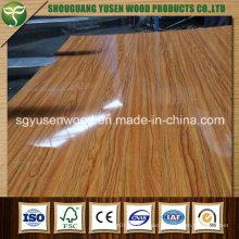 UV MDF, UV Coated Fiberboard, UV Laminated Fiberboard