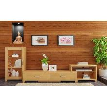 Meuble de télévision en bambou moderne