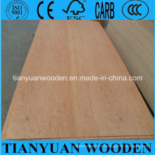 Tablero de madera contrachapada 3.6mm Okoume Face / Back Furniture