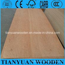 Tablero de madera contrachapada 3.6mm Okoume Face / Back Furniture