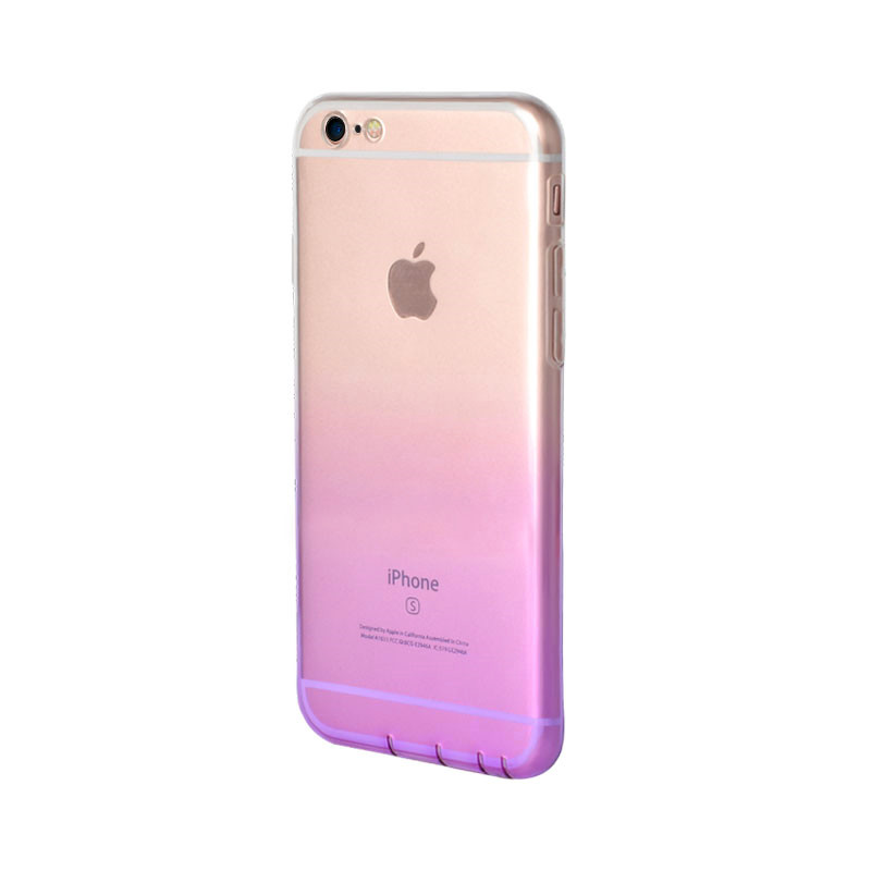 Transparent Gradient IML IPhone8 PLus Cover