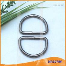 Tamaño interior 32mm Metal Hebillas, Regulador de metal, Metal D-Ring KR5075