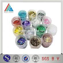 Pó Glitter Metallic Polyester