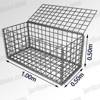Galvanized & PVC Coated Gabion box