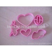 Plastic Cookie Cutter With Various Shape