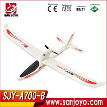 Nueva llegada SKY DANCER XK A700 3ch 2.4g rc avión giroscópico 6 ejes con cámara y rango de control largo Helicóptero SJY-A700-B