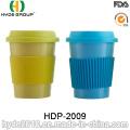 BPA livra o copo de café de bambu ecológico colorido da fibra (HDP-2009)