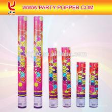 La fiesta de cumpleaños de los niños superventas de Australia Decoración de la fábrica La fiesta de los jugadores Poppers confeti rosa Poppers de la fiesta