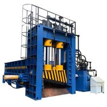 Máquinas hidráulicas de corte de guillotina de empacadoras de metal de acero