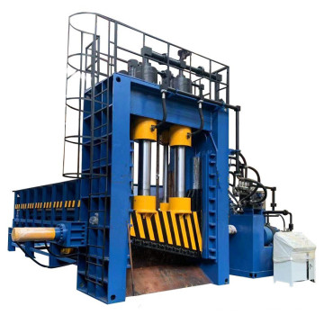 Cisaille à portique hydraulique automatique pour déchets de ferraille