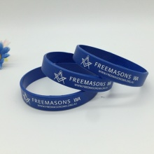 Printed My Own Logo Silicone Wristband