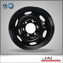 """Borde de rueda de acero negro de 15 """"con certificación CE para el mercado de Canadá"""