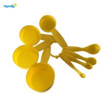 8pcs baking plastic measuring cup and spoon set