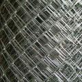 Clôture en fil de fer galvanisé