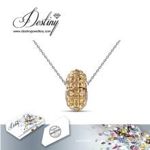 Destin bijoux cristal de Swarovski Disco Ball pendentif & collier