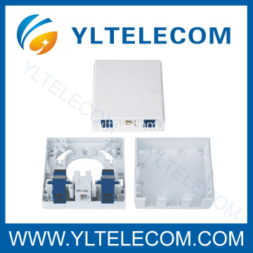 Personlized Products for Fiber Optic Terminal Boxes Fiber Optic Mounting Box SC and RJ45 supply to Wallis And Futuna Islands Exporter