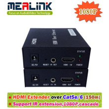 150 Extender HDMI por Single Cat5e / 6
