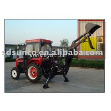 Manual Thumb on Backhoe Bucket for Farm Tractor