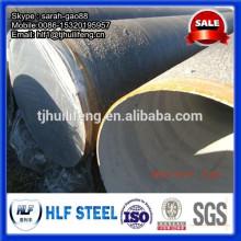 Doublure en mortier de ciment Anticorrosion Tuyau en acier pour transport d'eau