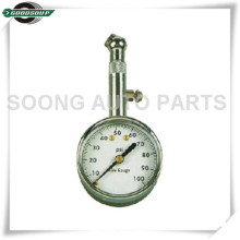 Dial Metal Tire Gauge, Dial tire pressure gauge with air release valve