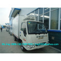 2016 JAC new refrigerated truck, 1.5T refrigerated truck container with cheap price