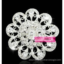 new vintage clear fashion wedding brooch