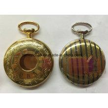 Montre de poche personnalisée de l'usine de montres-bracelets de Chine