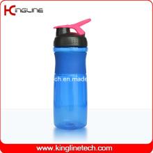 750ml Plastik Shaker Flasche mit Edelstahl Mixer Ball Ball