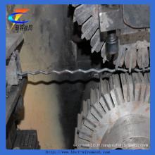 Treillis métallique ondulé de treillis métallique de maille de grillage d'extraction