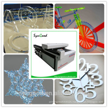 China Acrylic Co2 Laser Cutting Machine with High Accuracy