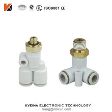 Quick Connect Plastic Pneumatic Fitting with PC