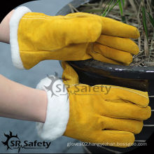 SRSAFETY Boa lining winter furniture leather gloves