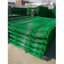 High quality curvy welded wire mesh fence