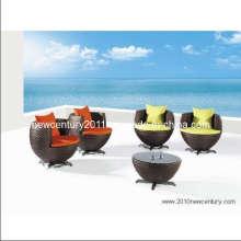 Freizeit-Stuhl und Tisch (7035)