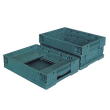 Neway Folding Plastic Storage Box Turnover Crate Box